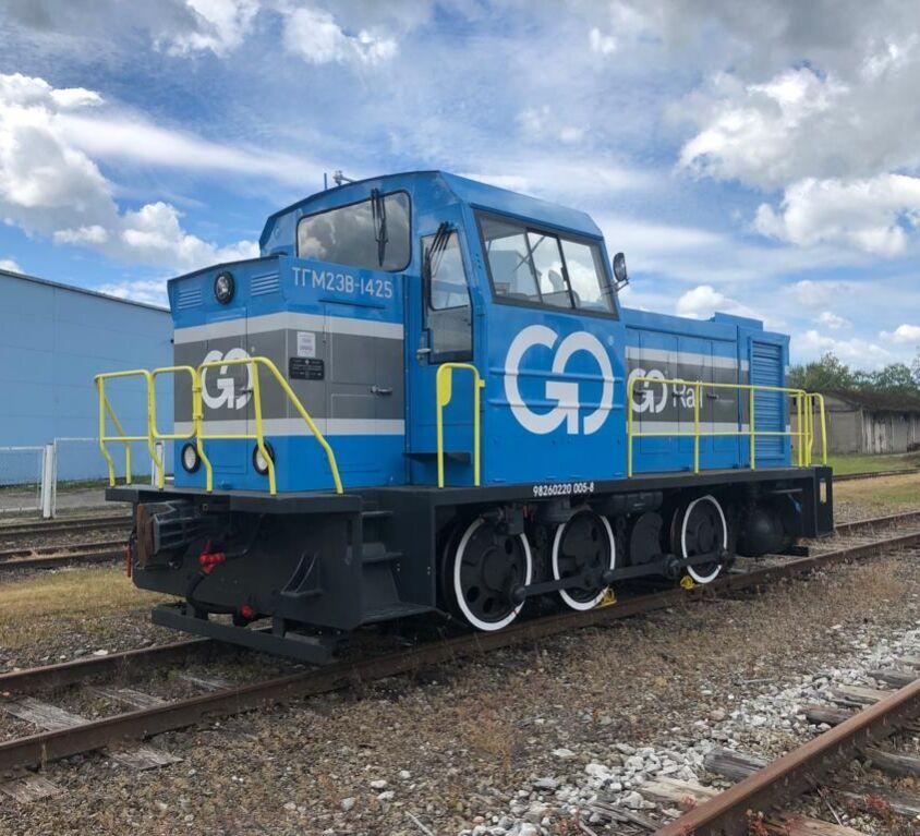TGM23B-1425 moderniseerimine (2018)
