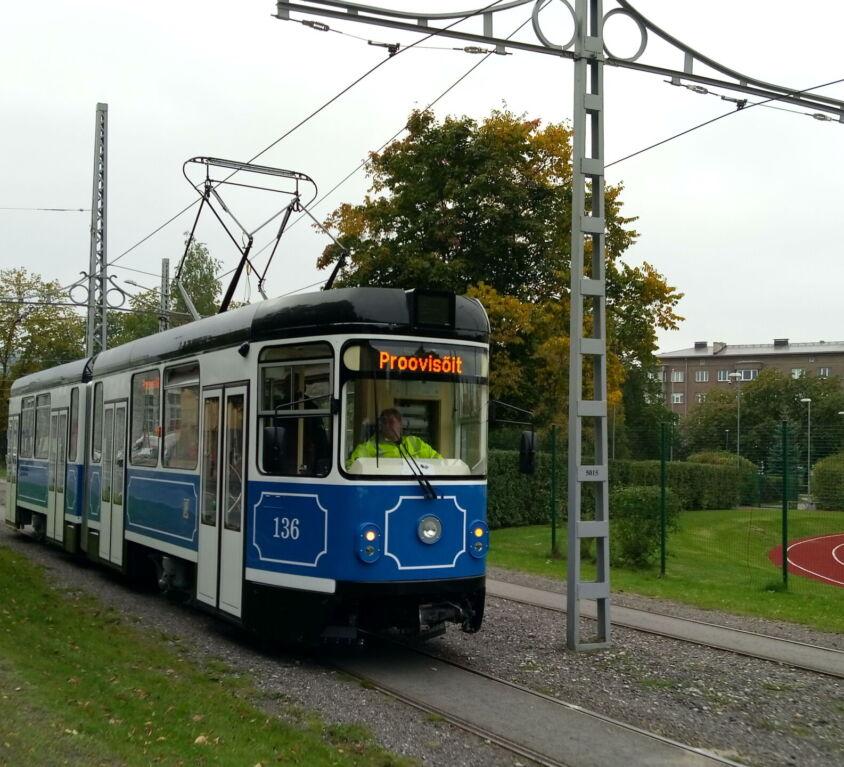 Tallinna linna trammide renoveerimine (2018)